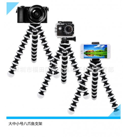Octopus Tripod Mobile live video streaming stand Large Medium Small Digital Camera SLR bracket Wholesale