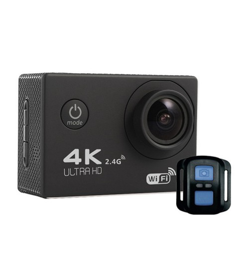 4K sports camera F60R 2.4G remote control WiFi outdoor sports cam