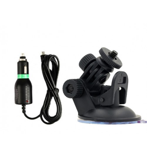 sj4000 sports camera accessories original car charger suction cup