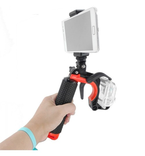 shutter trigger diving buoyancy stick fast grab handle hero 4 3 handheld trigger for action camera