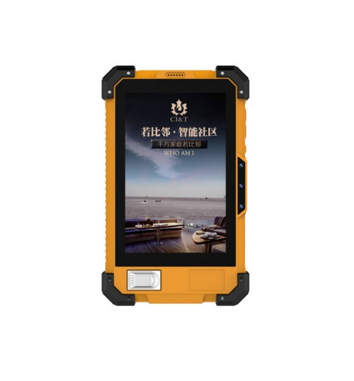 7 inch mini tablet PC IP67 with fingerprint module and NFC support 2D scan code 4G call