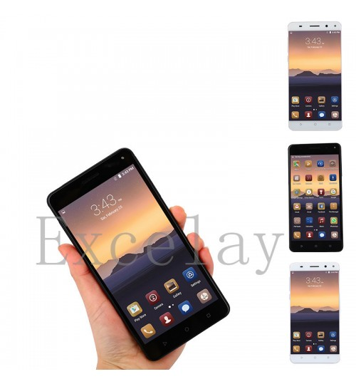 E68 4G Android smart mobile phone quad-core 5.5 inch 16G memory