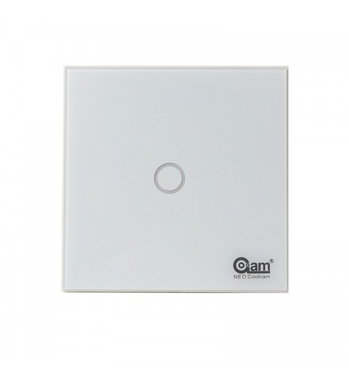smart wall Light Switch EU 1Gang Light Control 100-240v 16A saving energy