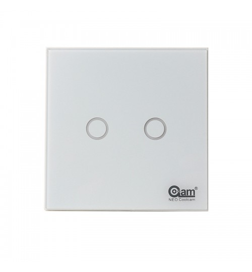 smart Light Switch APP remote control EU 2Gang Light Control high remperature resistant