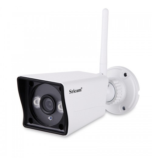 Outdoor waterproof surveillance camera 2 mega pixels 1080P HD webcam supports TF card Wifi monitoring