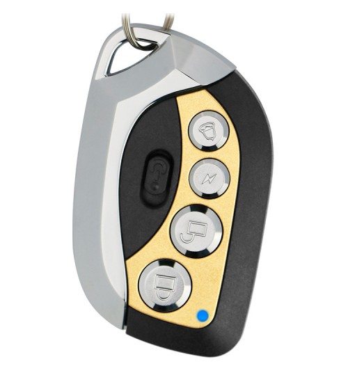 Electric garage door 433m copy four keys car access universal wireless remote control key